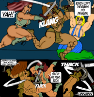 Voe(bonita Fights Nancy) by jerrie46