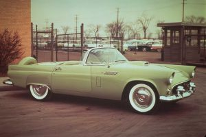 1956 Ford Thunderbird by TheCarloos
