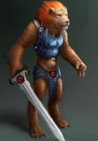 ThunderCats - Lion-O by SoupAndButter