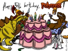 Happy 5th Birthday, Poharex by Poharex