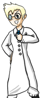 Elroy, Mad Scientist by MotherOC-Leroy