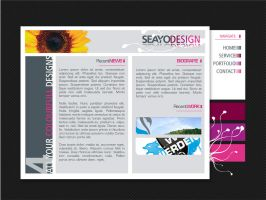 Website Flower by seayo