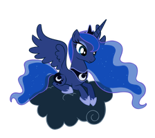 Princess Luna vector by VoleurChatNoire
