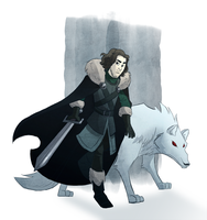 Jon snow by Diaff