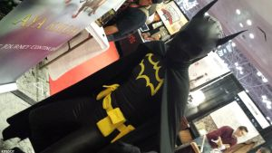 This angle was shot from fear! Batgirl Nooo..! by Kitedot