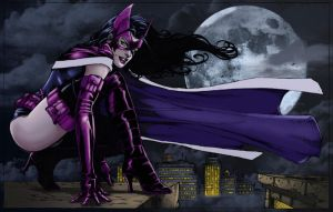 Huntress_Colors by Troianocomics