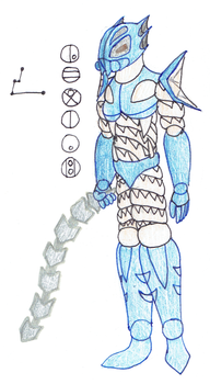 Leviah, Toa of the Constellation Hydrus by Color17