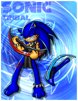 Sonic Tribal Card by Lord-Kiyo