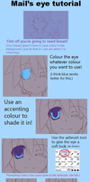 Eye CG Tutorial by RainbowMaple