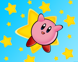 Kirby wallpaper by Troyenne