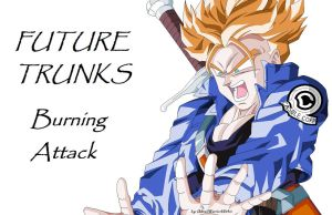 [MS Paint] Future Trunks Burning Attack by MiraiWarriorWithin