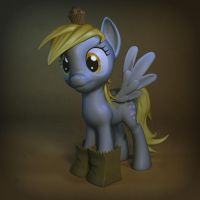 Derpy Hooves 3d by Temporal333