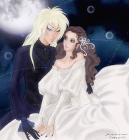 Jareth And Sarah by Kitty-Vamp