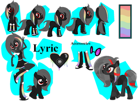 Lyric's Official Debut by iPandacakes