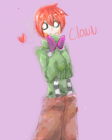 One-Layer Painting- Clown by MikachuKuro