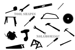 Tool Shapes by Nolamom3507