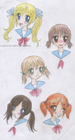 Lots of Pigtails by MarikaGirl