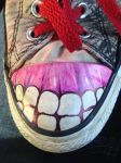 I drew on my shoes by Melon-Shark