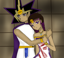 Pharaoh Atem and Queen Britt - Britt's first day  by QueenBrittStalin