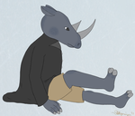 Rhino Boy by Dragonizer