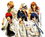 Uta No Prince Sama Render 7 by foreverGIKWANG