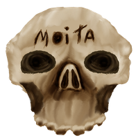 Skull Texture for Moita's Band by Pliavi