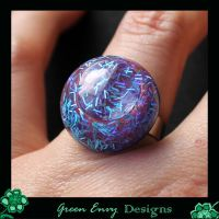 Hollows: blue glitter by green-envy-designs