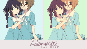 Action 002 by Honney-chan