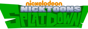 Nicktoons SplatDown (logo and info) by Coonfoot