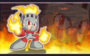 FireMan Powered Up Wallpaper by Ageman20XX