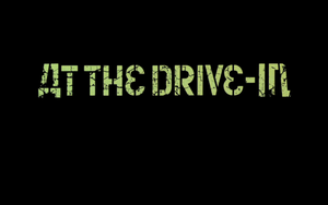 At the Drive-in logo wallpaper by Swietlix