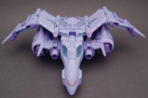 Custom Cyclonus jet mode 1 by Jin-Saotome