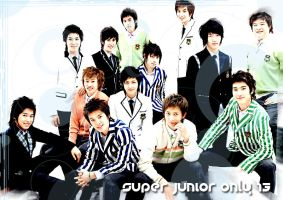 Super Junior Only 13 by c4ntix14