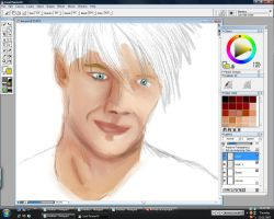 Beckham - WIP by Mo-Chroi