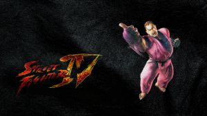 Street Fighter IV Dan wide by ManeFunction