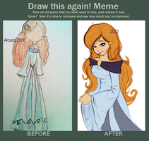 Before and after meme! by Fourtress