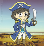 Cap'n Whishaw by BeckyBumble