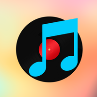 Retro Apple iTunes logo OS X Yosemite iOS 8 style by studiomonroe