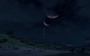 TES IV: Oblivion -Two Moons- by Foxzone91