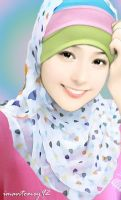 Cute Muslimah Girl by imantomey92