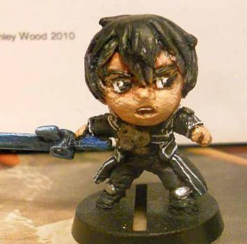 sde kirito custom by evldemon