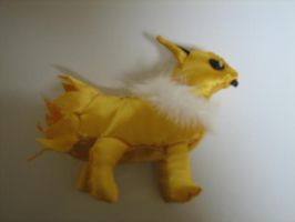 shiny furry jolteon by KittyNamedAlly