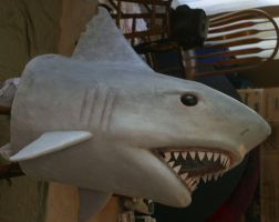 Shark Head Costume by TimBakerFX