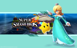 Rosalina Wallpaper - Super Smash Bros. Wii U/3DS by AlexTHF