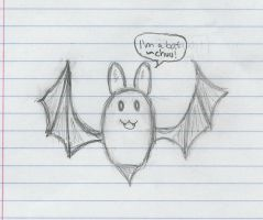 I am a bat CHUU by Pinballn3ss