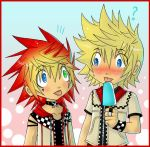 +Roxel and Roxas+ by Jack666rulez