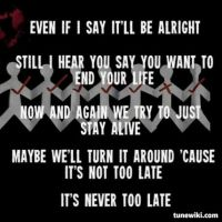 Even if I say it'll be alright. by YourGuardianAngels