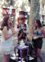 Mad Hatter in Barcelona by kotofil