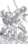 X-Force 3 Reclaimed 1 - Pencils by KurtBelcher1