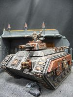 Inquisitorial chimera by Solav